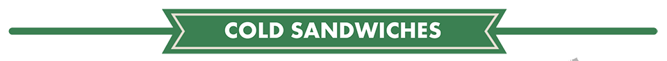 cold sandwiches